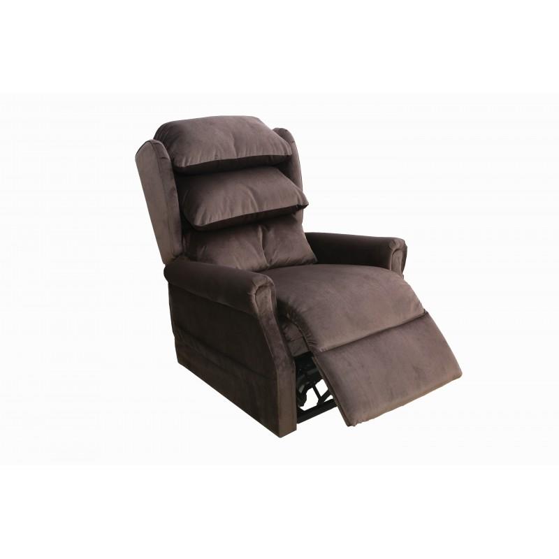 fauteuil releveur chic 1 moteur velours styl 39 care sudistribution. Black Bedroom Furniture Sets. Home Design Ideas