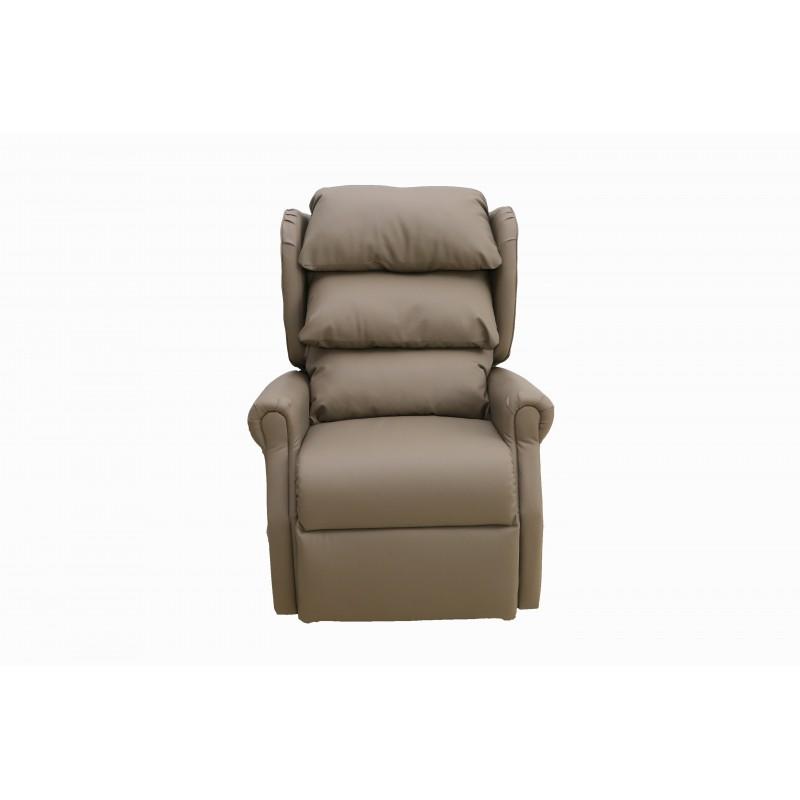 fauteuil releveur chic 1 moteur simili cuir styl 39 care sudistribution. Black Bedroom Furniture Sets. Home Design Ideas