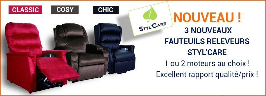 Nouveaux fauteuils releveur